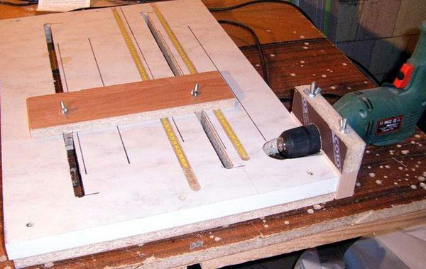 Как сделать кондуктор для мебели своими руками