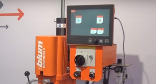 Blum EASYSTICK — модернизация Blum minipress