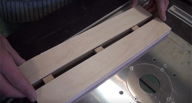 Соединение мебельных деталей методом «Домино»