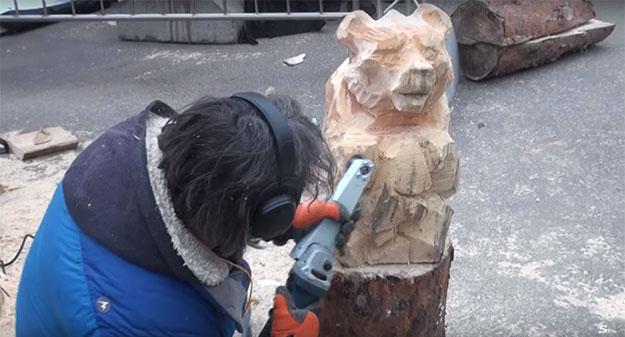 Минигриндер для дерева